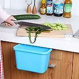 これは便利 福美康(FUMEIKANG) キッチン ダストボックス ゴミ箱 選べる 4色 2サイズ (大, ブルー)