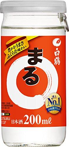 白鶴酒造 白鶴 まる サケカップ 200X30 [5648]