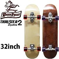 サーフスケート スケートボード コンプリート WOODY PRESS 32インチ ウッディープレス スラスターシステム2