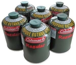 コールマン 純正 LPガス燃料 Tタイプ 5103A470T 6個パック
