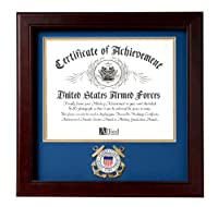 Allied Frame United States Coast Guard Certificate of Achievement Frame [並行輸入品]