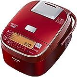 パナソニック おどり炊き 可変圧力IHジャー炊飯器 5.5合 ダイヤモンド竈釜 レッド SR-PA105-R