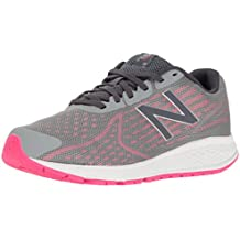 New Balance Kids' Vazee Rush v2, Grey/Pink