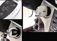 Eppar ®新しいキーボックスカバーfor Mercedes Benz Cクラスw2052014–2017C180C200C250C300C350 B Style ブルー EPYCLR00000263