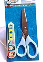 Thomas Kids Crafts 食品 ステンレススチール 安全ハサミ カバー付き 5.5インチ