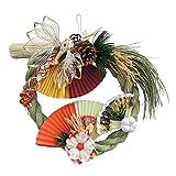 シオン工芸 オーナメント 国産〆縄正月飾り2016 イ-600