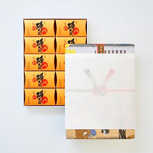 お菓子の香梅 特製誉の陣太鼓20個入 スイーツ 807g 紅白結び切り(のしなし)
