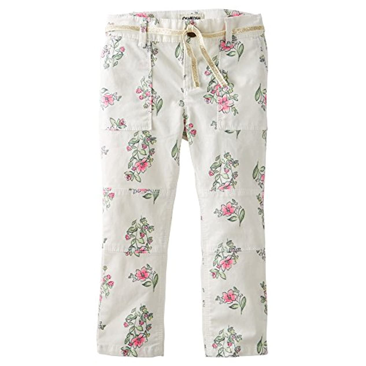 制約細いグレートバリアリーフOshKosh B'gosh Toddler Girls Skinny Field Twills/Pants (2t, Ivory Floral)