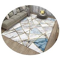 ZEMIN 廊下敷きカーペッ エリアラグ 寝室 マット 褪色しにくい カーペット 通気性、 マルチサイズカスタマイズ可能 (Color : A, Size : 1.2x1m)