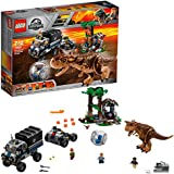LEGO Jurassic World Carnotaurus Gyrosphere Escape 75929 Playset Toy