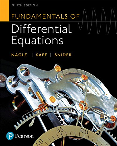 Download Fundamentals of Differential Equations (9th Edition) 0321977068
