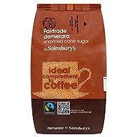 (Sainsbury's (セインズベリー)) フェアトレードデメララサトウキビ1キロ (x4) - Sainsbury's Fairtrade Demerara Cane Sugar 1kg (Pack of 4) [並行輸入品]