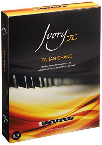 【正規輸入品】 Synthogy Ivory II Italian Grand ピアノ音源 ファツィオリ