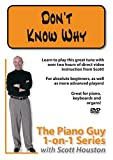 Piano Guy 1-on-1 Series: Don't Know Why by Scott Houston