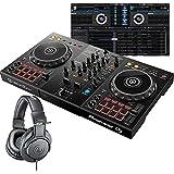 Pioneer DJ パイオニア DDJ-400 + ATH-M20 DJコントローラー+ヘッドホンセット