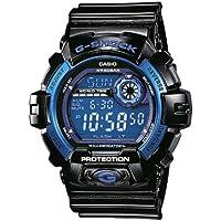 Casio G-Shock Digital Mens Black/Blue Watch G-8900A-1DR
