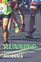 Running Journals: Run Planner and Train Race Repeat use this helpful running notebook to keep track of your progress.
