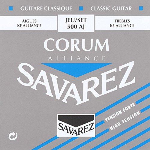 SAVAREZ サバレス クラシックギター弦 コラムアリアンス ハイテンションセット 500-AJ