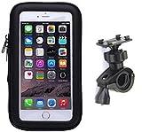 【AC BiSHOP】 防水防塵 ケース マウント ホルダー キット GPS ナビ スマホ iPhone 自転車 バイクに (6s Plus / 7 Plusまで対応(脱着防止ストラップ付)) (¥ 968)