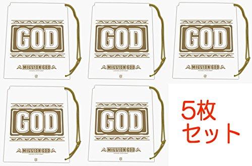 ミリオンゴッド ショルダーバッグ [5個セット] パチスロ スロット GOD キャラクター グッズ