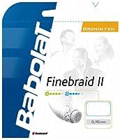 BabolaT「FINEBRAID II 070200mロール BA243099」バドミントンストリング【タイムセール0215】