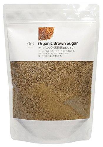 ナチュラルキッチン オーガニック 黒砂糖 顆粒(400g)