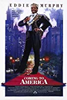 Coming to America映画ポスター27x 40、Eddie Murphy、Arsenioホール、A、Made in the U。S。A。