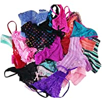 jooniyaa Varity of Women Underwear Pack T-Back Thong G-String Lacy Panties Tanga