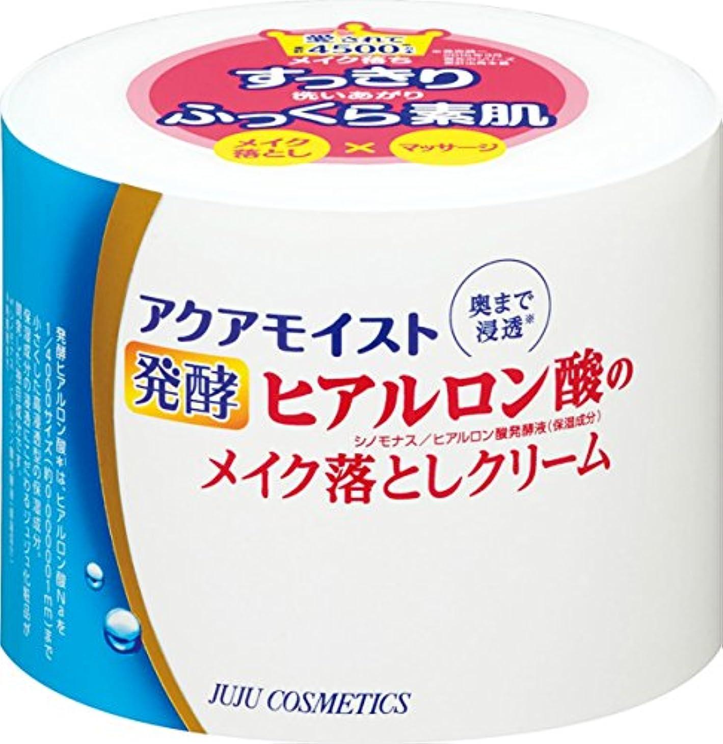 約設定分解する引用アクアモイスト 発酵ヒアルロン酸のメイク落としクリーム 160g