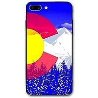 Blue Colorado Flag 男女兼用 オリジナルデザイン おしゃれ スクリーンを保護する 粉砕防止のポリカーボネート製パターン 人気NO.1 ケース 5.5インチ Iphone Apple 7/8 Plus