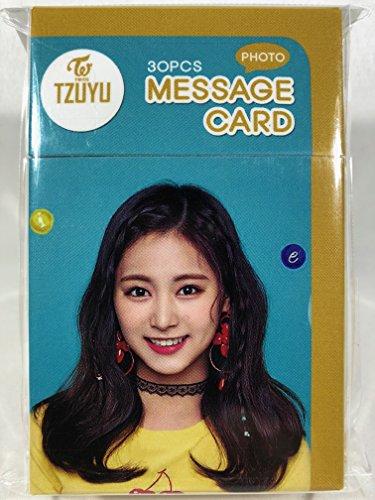 TZUYU (ツウィ - TWICE (トゥワイス))/フォトメッセージカード30枚セット - Photo Message Card 30pcs (TradePlace K-POPグッズ/韓国製)