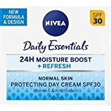 Nivea Daily Essentials Light Moisturising Day Cream, Spf30, 50ml