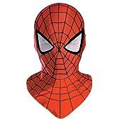 スパイダーマン 大人用マスク コスチューム用小物 ワンサイズ