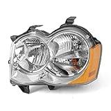 Omix-ADAフォグランプなし12402.23 LHヘッドライト、05-10ジープグランドチェロキーWK