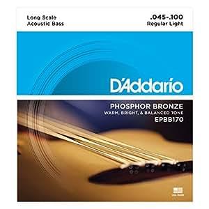 D'Addario ダダリオ アコースティックベース弦 フォスファーブロンズ EPBB170 Long 【国内正規品】