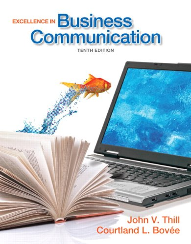 Download Excellence in Business Communication 0132719045