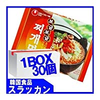 チゲ麺1BOX(120gX30個) [並行輸入品]