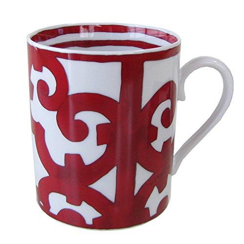 エルメス HERMES ガダルキヴィール レッド マグカップ シングル No1 300ml 011031P1 【並行輸入品】 11031p