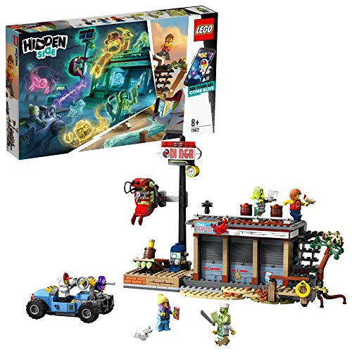 レゴ(LEGO) ヒドゥンサイド ゴーストがいっぱいエビレストラン 70422
