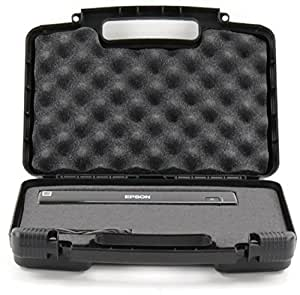 Life Made Better Storage Organizer - Compatible with Epson WorkForce DS-30 VuPoint Solutions Flagpower Magic Wand Portable Scanner And Accessories - Durable Carrying Case - Black [並行輸入品]