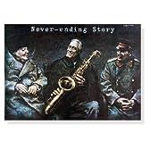 ポスター ヴィエスワフ グシェゴチュク ネバーエンディング ストーリー - チャーチル、ルーズベルト、スターリン -