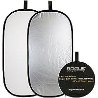 ROGUE 2-in-1 50×100cm シルバー/ホワイト 折りたたみ式レフ [レフ板]