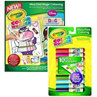 Bundle : 2 Items – CrayolaカラーWonderカラーリングパッドDoc – Doc McStuffinsと色Wonderマーカー10パック