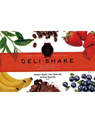 DELI-SHAKE (デリシェイク)24袋入り(各4袋) 6種のフレーバー ストロベリー ブルーベリー ココア 抹茶ラテ カフェモカ バナナミルク