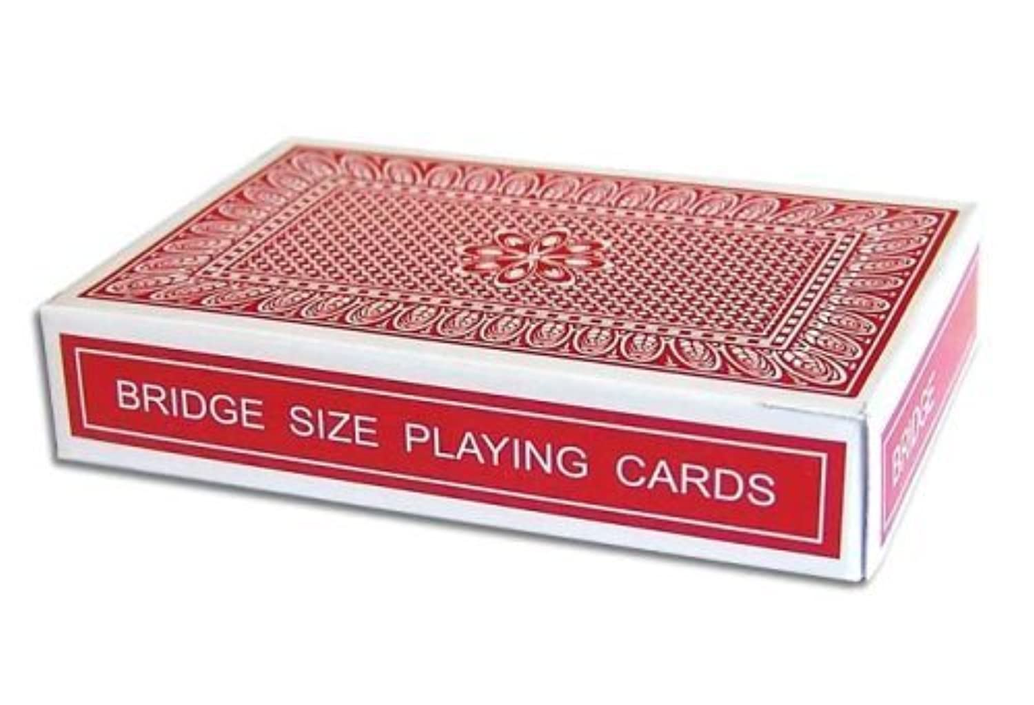 Magic Red Stripper Deck - Bridge Size - Perfect for Smaller Hands - Fits in Your Pocket with Ease - Includes Instructions by Magic Makers [並行輸入品]