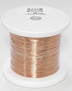 【エナメル線】ポリウレタン銅線 UEW 0.32mm 1kg  (長さ約 1,350m)