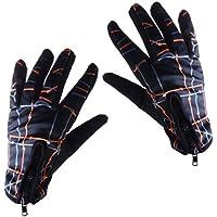 Dovewill 全4色2サイズ 手袋 グローブ 男女兼用 タッチ スクリーン サイクリング 狩り 暖かい スキー フルフィンガー