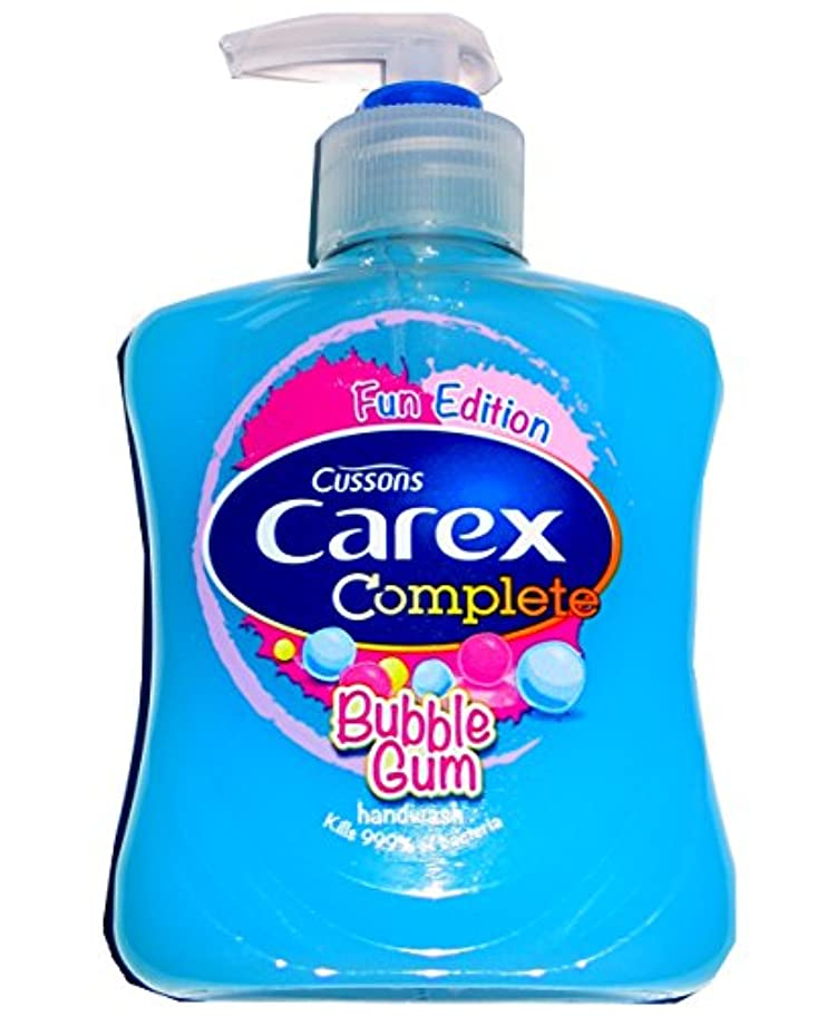 医薬厳半円Cussons Carex Complete Anti Bacterial Hand Wash Kills 99% Of Bacteria (Bubble Gum) by Cussons