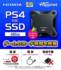 PS4対応 外付けSSD 480GB