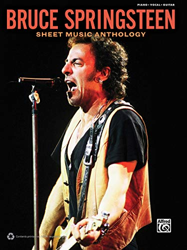 Download Bruce Springsteen: Piano/Vocal/guitar (Sheet Music Anthology) 0739081365